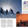 Australian Geographic photo Snowy mountains snow cave expedition survival