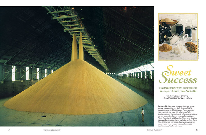 Superbe Australian Geographic Photo Sugar Raw Sugar Bulk Storage ...