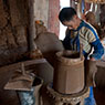 Paul Nevin China Photo In Situn this man fashions clay pots