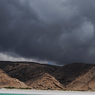 Paul Nevin Socotra Island travel Rain filled clouds